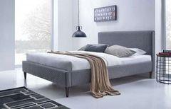 Кровать Кровать Halmar Flexy (пепельный)