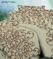 Постельное белье Постельное белье Файбертек Комплект двухспальный с простыней на резинке КПБ.57.СР