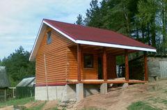 Строительство домов Строительство домов WoodHata F-D-12