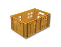 БелБиоХаус Ящик овощной 600x400x250 пластиковый с перфорацией сплошное дно, арт. 201-1
