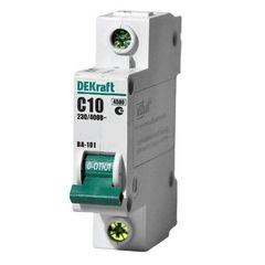 DEKraft Автоматический выключатель ВА101-1P-010A-C (11053DEK)