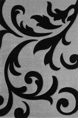 Ковер Lalee Lambada LAM 451 серебряный-черный (80x150)