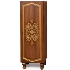 Мебель для ванной комнаты Калинковичский мебельный комбинат Шкаф 1Д Багира КМК 0465.6