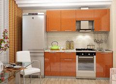 Кухня Кухня Интерьер-Центр Олива оранж