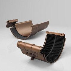 Водосточная система Roofart Scandic Copper BJ - хомут желоба