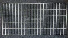 Сетка GabionCity сварная оцинкованная 2000x2500мм (яч. 50x100, D=4мм)