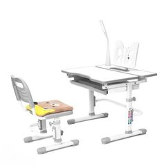 Детский стол Rifforma Comfort-07 парта, лампа и стул