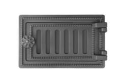 Комплектующие для печей и каминов Везувий Дверь поддувальная ДП-2 (антрацит)