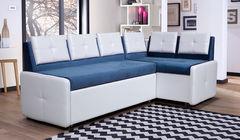 Кухонный уголок, диван  Кухонный диван Оскар (бело-голубой)