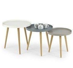 Журнальный столик Halmar Malaga 2 серый