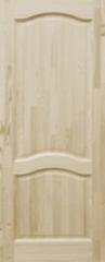 Межкомнатная дверь Межкомнатная дверь из массива Поставский мебельный центр ДГ 7 Неокрашенная