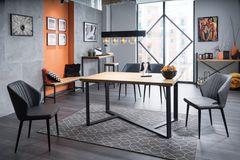 Обеденный стол Обеденный стол Signal Bernardo 180 (дуб/черный)