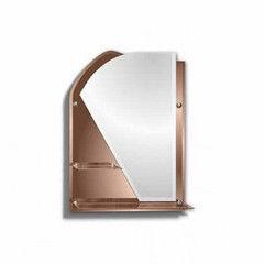 Мебель для ванной комнаты Алмаз-Люкс Зеркало с полками 8с - Е/254 Фестиваль 2 (81x61)
