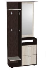 Прихожая Мебель-Класс Денвер МК 500.02 (венге/дуб шамони) правая