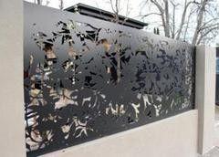Забор Забор Отис-сервис Забор Листья