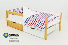 Детская кровать Детская кровать Бельмарко Skogen дерево-белый
