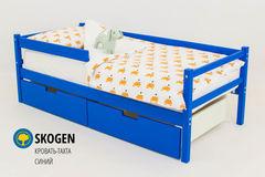 Детская кровать Детская кровать Бельмарко Skogen синий