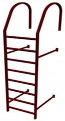 Элемент безопасности кровли Grand Line Лестница кровельная стеновая