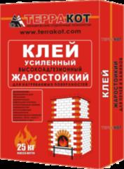 Клей Клей Терракот Жаростойкий усиленный (25кг)