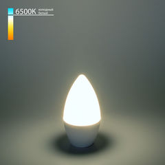 Лампа Лампа Elektrostandard Свеча CD LED 6W 6500K E14