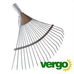 Посадочный инструмент, садовый инвентарь, инструменты для обработки почвы Вергохоз Грабли веерные прутковые (00000000637)
