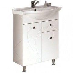 Мебель для ванной комнаты Акватон Тумба под умывальник Лиана 65 М (1A165801LL010)