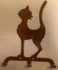 Полкодержатель, крючок Отис-сервис Крючок декоративный Кот (коричневый)