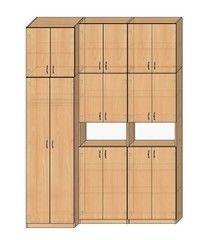 Шкаф офисный МебельДизайнПроект Пример 20