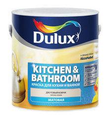 Краска Краска Dulux Kitchen & Bathroom Готовые цвета 1 л (ослепительно белый)