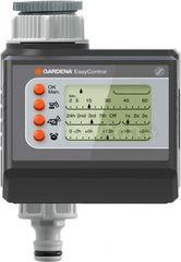 Система автоматического полива Gardena Контроллер Gardena Таймер подачи воды EasyControl [1881-29]