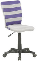 Детский стул Детский стул Halmar Fuego (бело-фиолетовый)