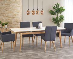 Обеденный стол Обеденный стол Halmar Montreal (бьянко/пепельный)