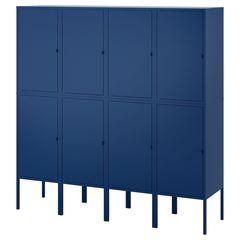 Шкаф металлический IKEA Ликсгульт 292.791.91