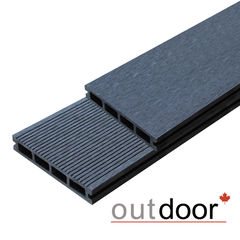 Декинг Декинг Outdoor ДПК 2110 150x25x3000 мм вельвет/шлифованная (черная)
