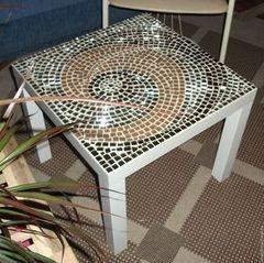 Журнальный столик Вишадэ из мозаики 3