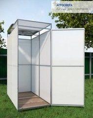 Летний душ для дачи Летний душ для дачи Агросфера C тамбуром