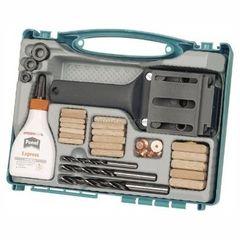 Столярный и слесарный инструмент Wolfcraft Устройство для подготовки соединений с помощью деревянных шипов D 6,8,10мм в наборе (чемодан) Wolfcraft (wlf-4645000)