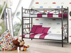 Детская кровать Детская кровать БелНордСтайл Кровать двухъярусная Белнордстайл Дуэт 90х200
