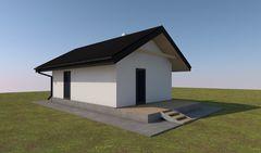 Лучший дом Проект мини дома М050616