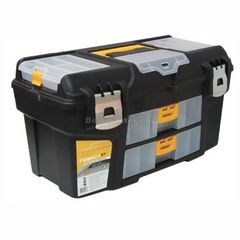 Ящик для инструмента ГЕФЕСТ 21 мет.замки ( с 2 консолями и коробками) (М2945)