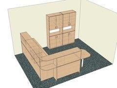 Мебель для персонала МебельДизайнПроект Пример 17