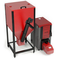 Комплектующие для систем водоснабжения и отопления Костер Автоматическая пеллетная горелка с бункером BP-25