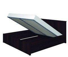 Кровать Кровать Глазовская мебельная фабрика Sherlock 41.2 с подъемным механизмом (1800) орех шоколадный