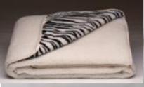 Одеяло Одеяло Lanatex меховое двухстороннее с рисунком 145x205 см