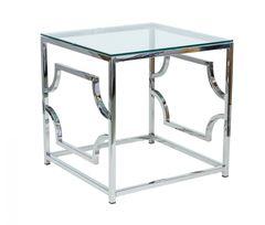 Журнальный столик Signal Versace B (серебряный)