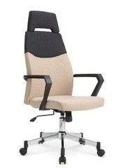 Офисное кресло Офисное кресло Halmar Olaf черно-бежевый