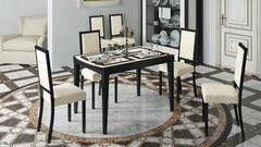 Обеденный стол Обеденный стол ТриЯ Танго Т2 раздвижной стол со стеклом
