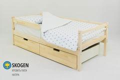 Детская кровать Детская кровать Бельмарко Skogen натура