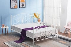 Кровать Кованая кровать Halmar Panama 120 (белый)