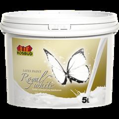 Краска Kosbud латексная премиум Royal White 15л